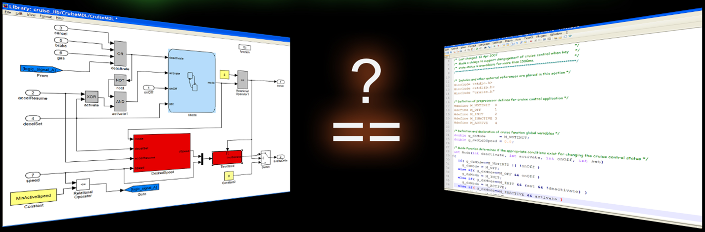 Testing Tools for Simulink and C Code