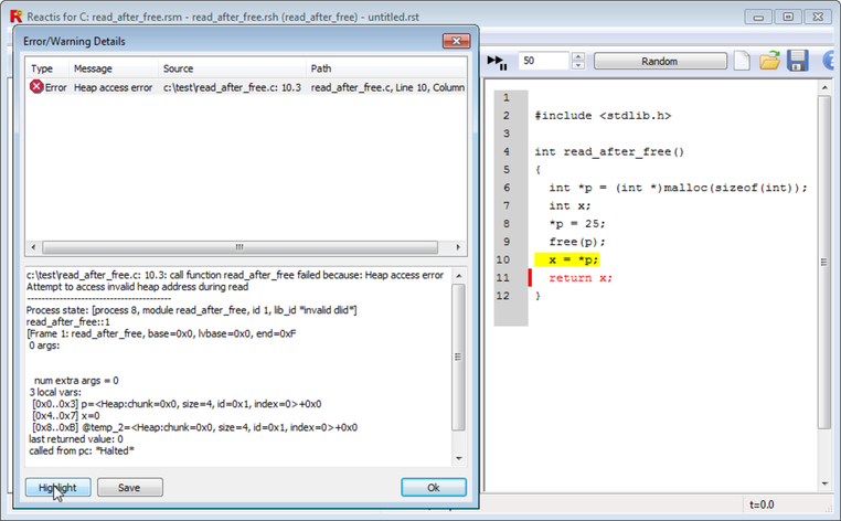 A screenshot